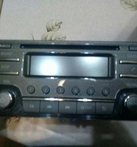 Продам штатную аудио систему на нисан сентра 2014