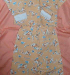 Пижама новая размер 30 (1,5 года) 81-86 см