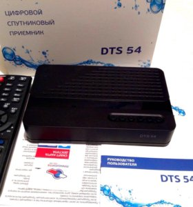 Ресивер Триколор HD DTS-54 + Карта