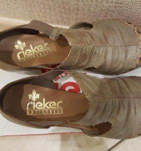 Новые женские туфли rieker (риекер) 41 р-р.