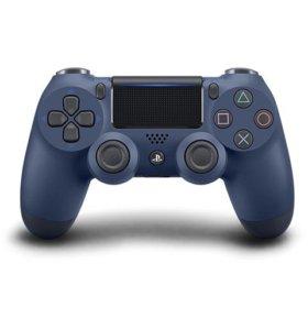 PS4 Dualshock 4 v2 Midnight Blue, новый