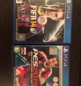 На PS4 3000 за 2 диска