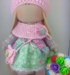 Текстильные куколки ручной работы
