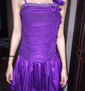 Платье для девочки(+болеро)
