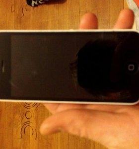 iPhone 5c продам срочно