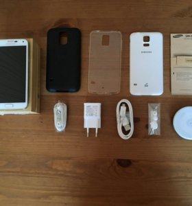 Samsung Galaxy S5 полный комплект+ подарки