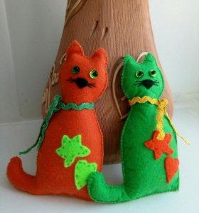 Сувенир два кота.