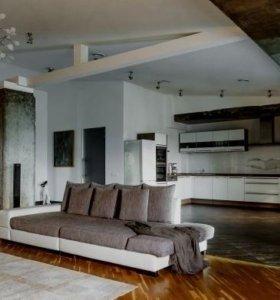 Квартира, 3 комнаты, 210 м²