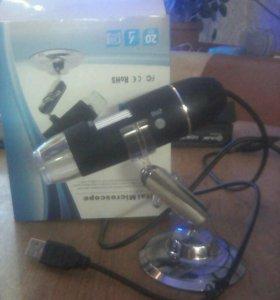 Электронный микроскоп новый