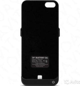 Чехол-аккумулятор DF iBattery-06 для Apple iPhone