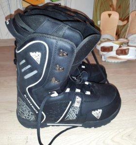Ботинки для сноуборда 42 -43 размер