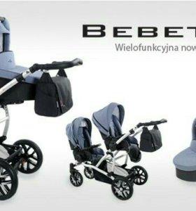 Детская коляска для двойни Bebetto 42 2 в 1