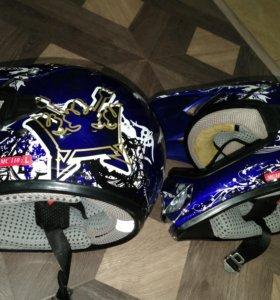 Шлем детский мотокросс