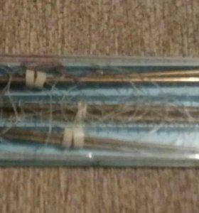 Спицы для вязания в наборе на резьбе,сменной леске