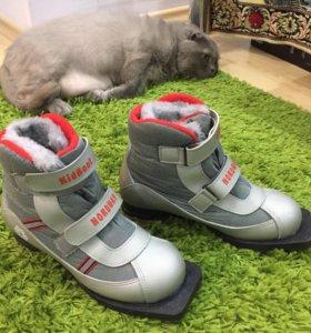 Лыжные ботинки 37 размер NORDWAY Kidboot