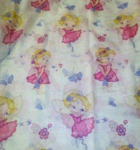 Тюль и шторы детские,шторы 2 полосы.