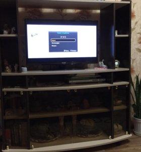 Тумба под телевизор с полками