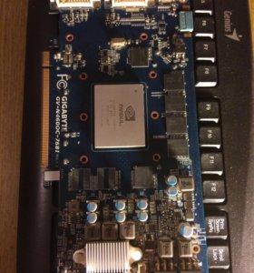 Видеокарта GTX460
