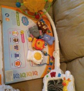 Музыкальная игрушка-ночник на кроватку