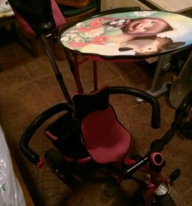 Велосипед-коляска детский.