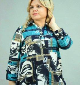 Новая блузка 64 разм.