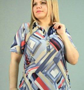 Новая блузка 66 разм.