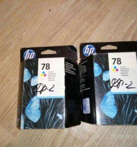 Картридж HP 78