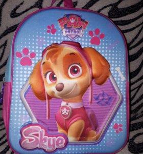 Детский рюкзак 3D