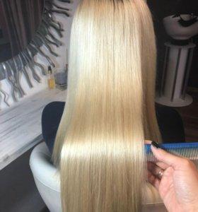 Лечение волос!Блиц-реконструкция волос!