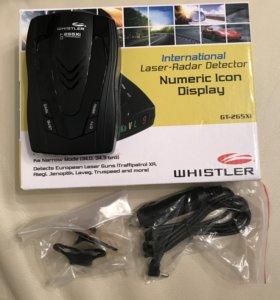 Радар-детектор Whistler gt-265xi