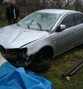 Запчасти Мицубиси Лансер-10 2007-2010г./разбор
