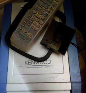 Микро-центр Hi-Fi Kenwood HM332 с усилителем