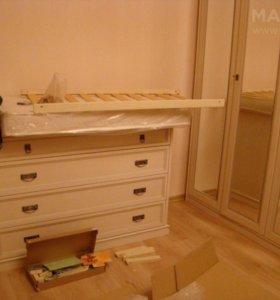 Устоновка мебели