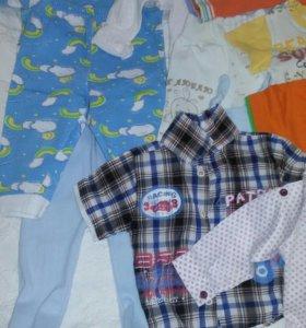 Пакет детских вещей от 6-12 месяцев