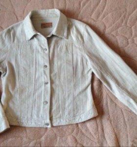 Джинсовая куртка вельветовая