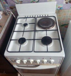 Электро-газовая плита