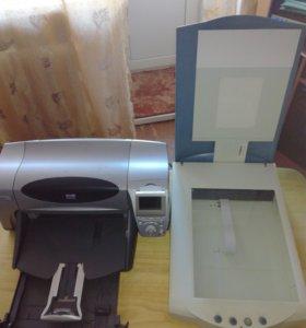 фотопринтер и сканер