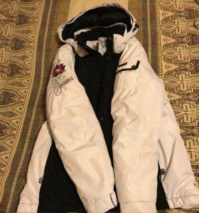 Женская зимняя куртка тёплая