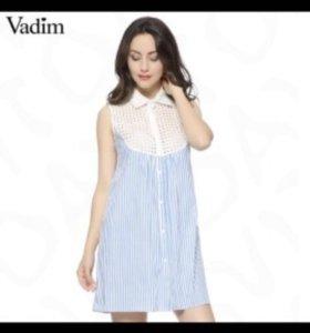 Платье-рубашка новое