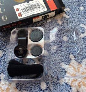 Линзы объективы для камеры на телефон