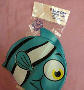Новая детская силиконовая шапочка