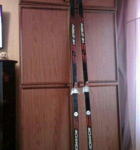 Лыжи(210см)
