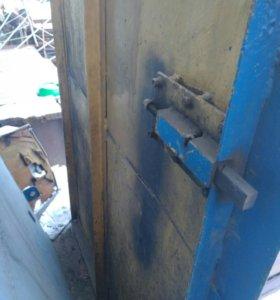 Гаражные ворота без рамки