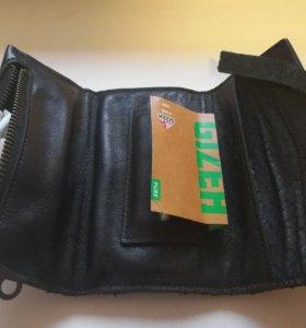 Кожаный кисет для трубки, самокруток и аксессуаров