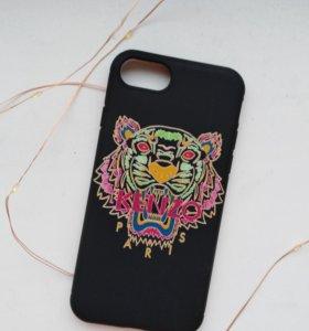 Новый силиконовый чехол Kenzo для iphone 7