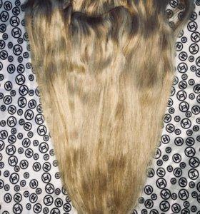 Волосы натуральные .
