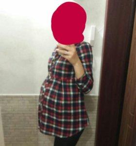 Рубашка для беременных 42-44
