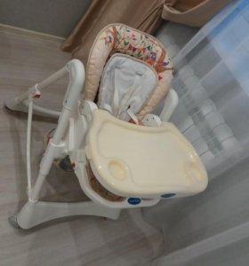 Детский стульчик для кормления с рождения