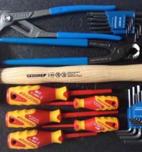 Инструменты Gedore новые