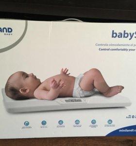 Весы для взвешивания новорождённых